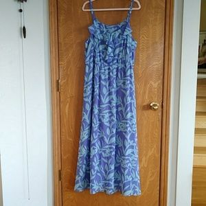 Lane Bryant Periwinkle Blue Strappy Dress Size 18